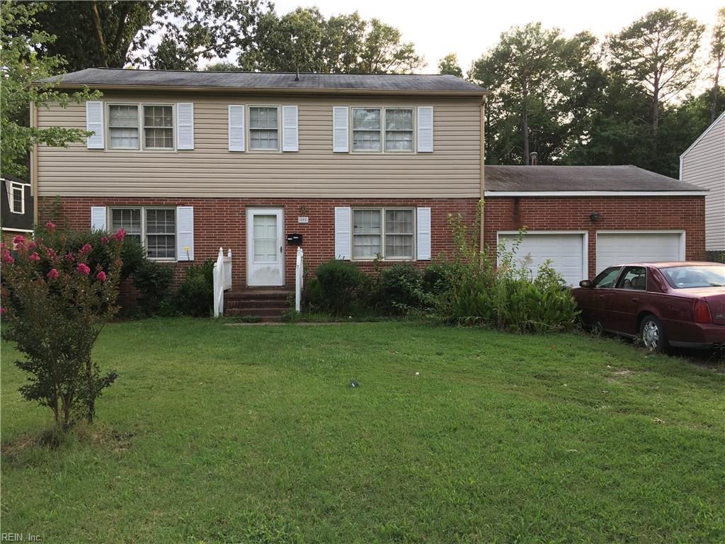 808 Terrace DR, Newport News, VA 23601
