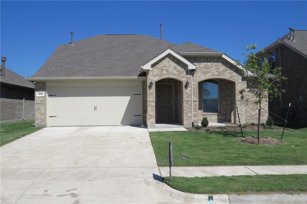 1408 Crescent View Drive, Anna, TX 75409