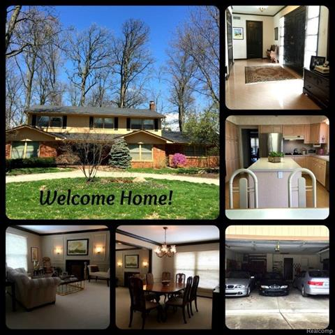 4326 Orchard Crest, West Bloomfield Twp, MI 48322