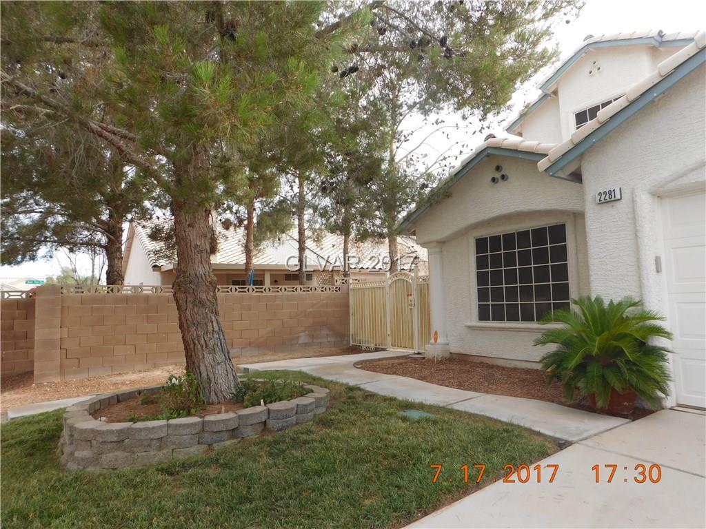 2281 MONTEREY PINE Drive, Las Vegas, NV 89156