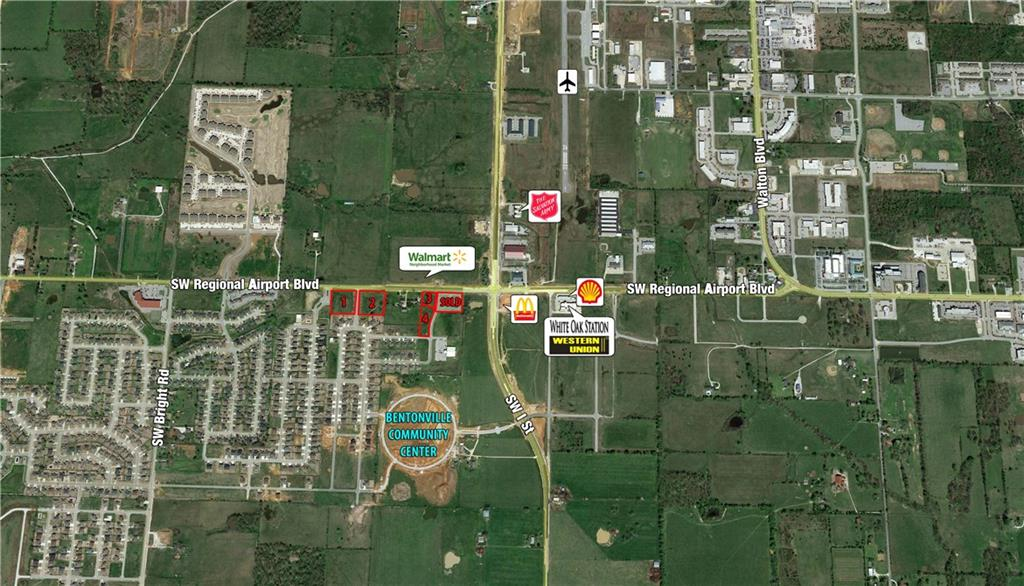 SW Regional Airport RD, Bentonville, AR 72712
