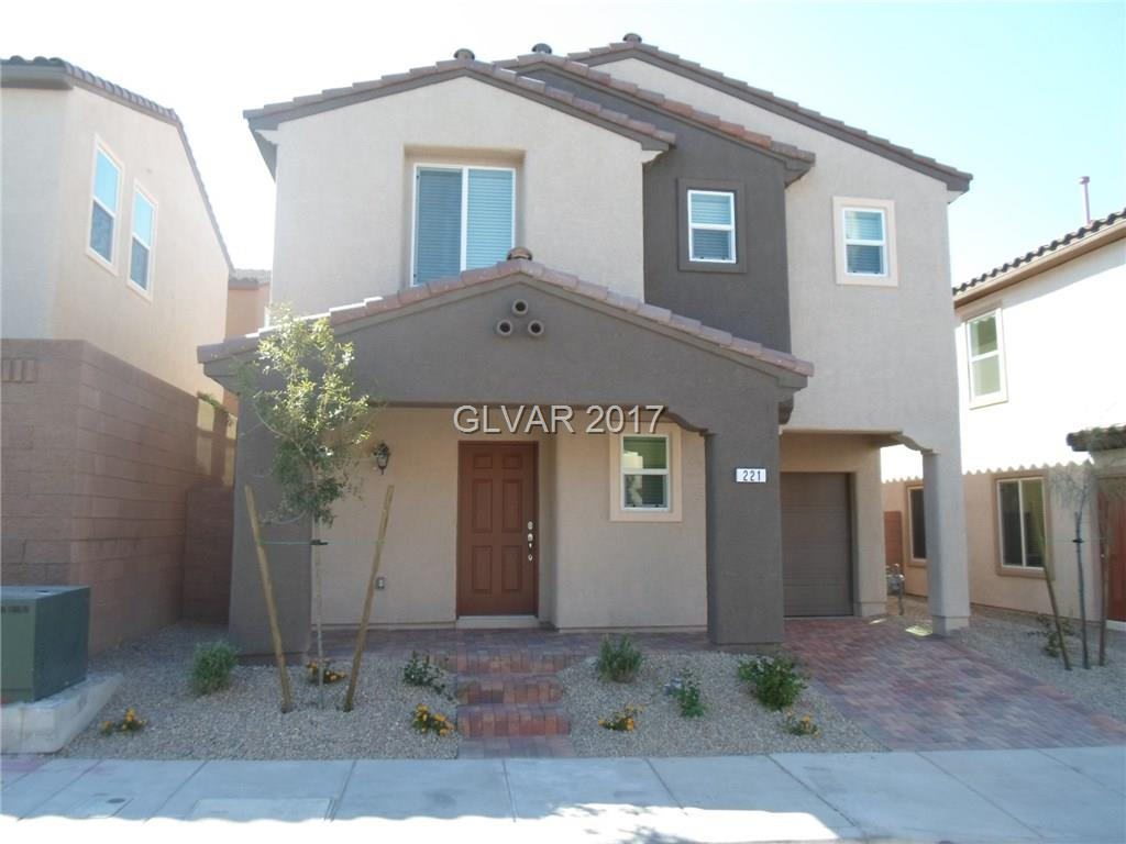 221 CARAWAY BLUFFS Place, Henderson, NV 89015