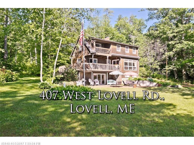 407 West Lovell Road, Lovell, ME 04051
