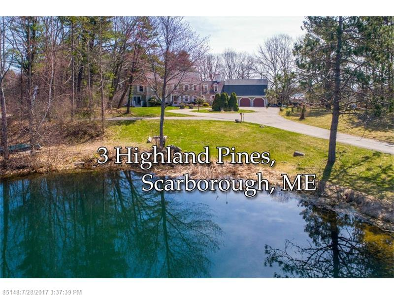 3 Highland Pines RD , Scarborough, ME 04074
