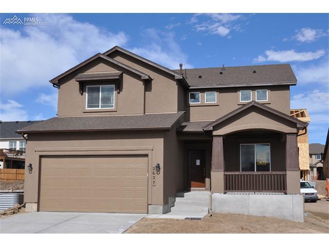 2627 Hannah Ridge Drive, Colorado Springs, CO 80922