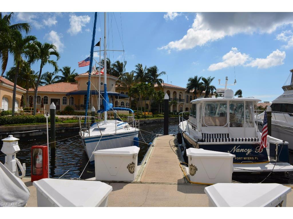 38 Ft. Boat Slip at Gulf Harbour D-35, FORT MYERS, FL 33908