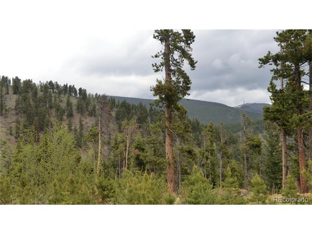 "Hideaway land bordered on two sides by national forest.  Camp Creek at edge of property.  Rare land with views in all directions and less than one hour from Denver.  Rugged property offers total seclusion at the end of the road.  Power at edge of the property and phone too.  Perfect for getaway place, seclusion or for the ""hermit"" lifestyle."