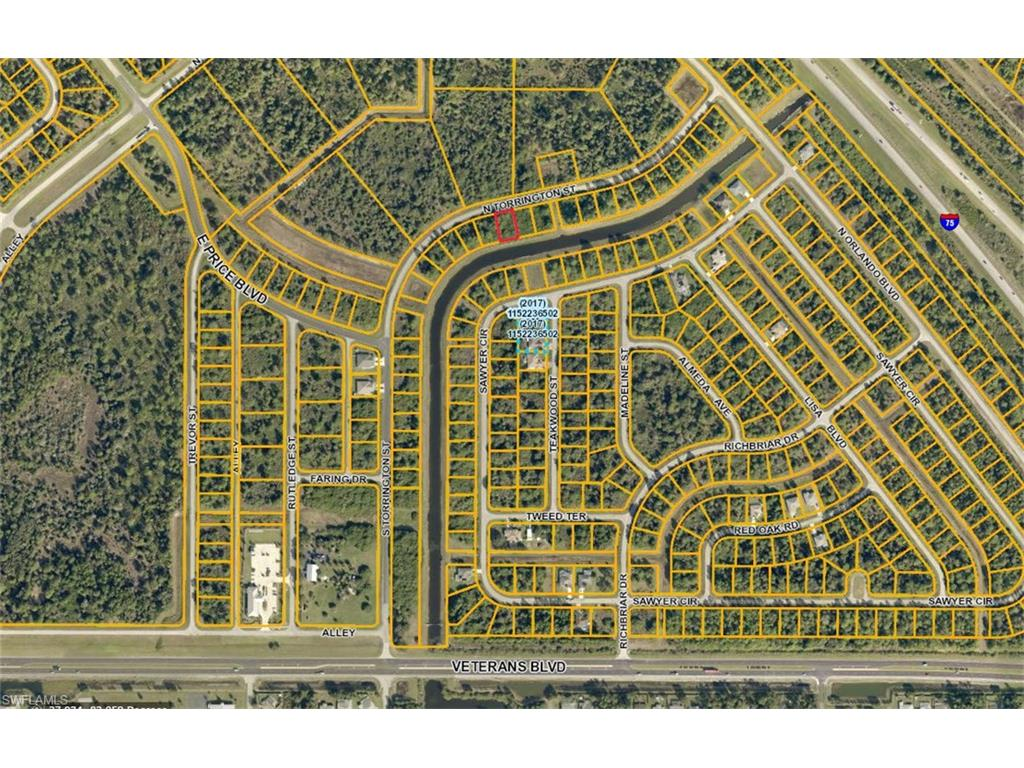 Lot 16 N Torrington ST, NORTH PORT, FL 34288