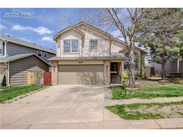 5835 Corinth Drive, Colorado Springs, CO 80923