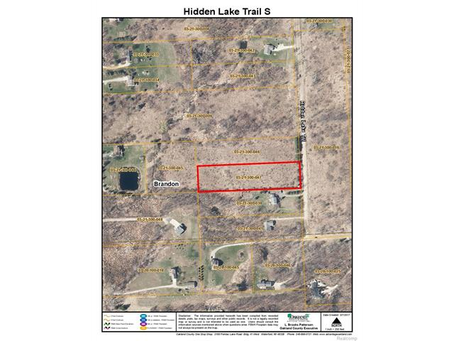 0 Hidden lake trail, Brandon Twp, MI 48462