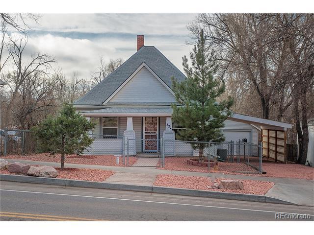 827 E Costilla Street, Colorado Springs, CO 80903