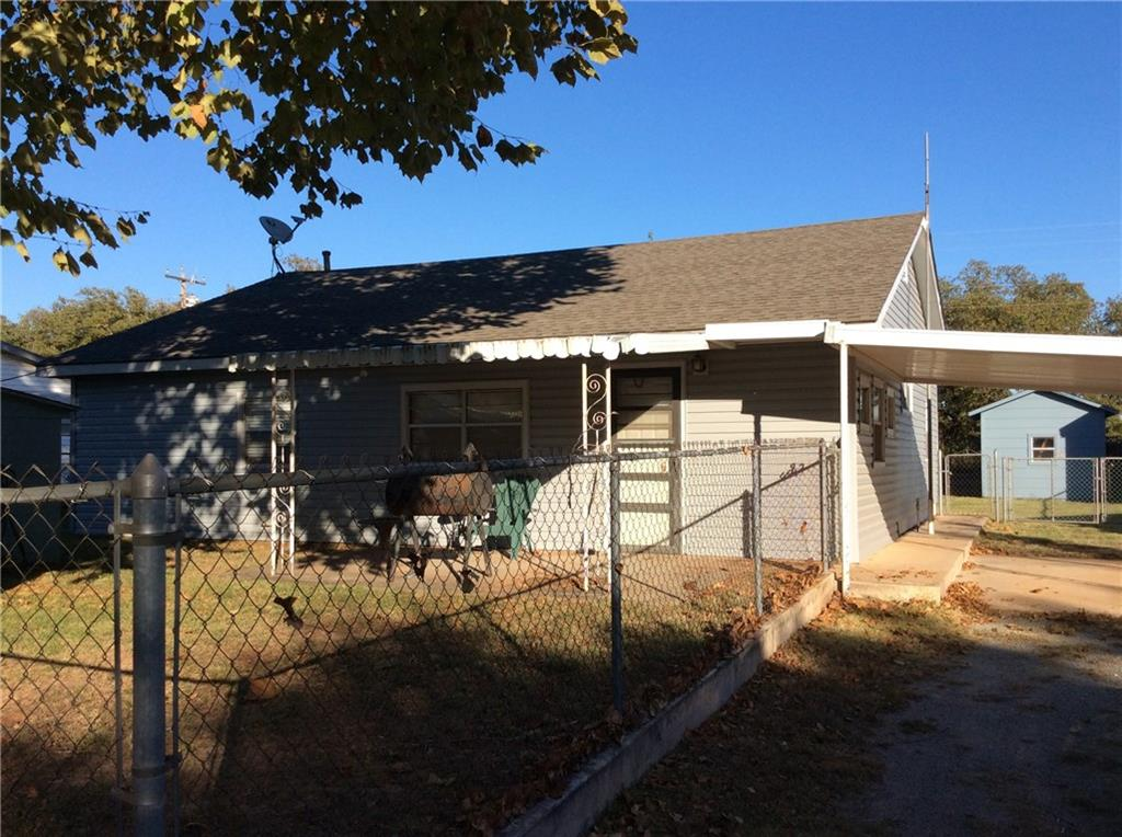 603 N. Pioneer, Fort Cobb, OK 73038