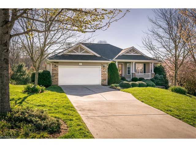 IDEALLY LOCATED BETWEEN HENDERSONVILLE & BREVARD!  DESIRABLE EAGLE CHASE NEIGHBORHOOD OFFERS OPEN, SPLIT BEDROOM FLOOR PLAN W/AN ABUNDANCE OF NATURAL LIGHT.  10' CEILINGS ON MAIN LEVEL, LIVING ROOM OPENS TO COVERED DECK, FORMAL DINING AREA, KITCHEN W/GRANITE TOPS, WALK-IN PANTRY, GAS STOVE, STAINLESS APPLIANCES, THREE BEDROOMS + OFFICE.  LOWER LEVEL OFFERS SPACIOUS FAMILY ROOM, FINISHED WORKSHOP, FULL BATH + GENEROUS STORAGE AREAS.  EXPANSIVE COVERED BACK DECK & PATIO.  NICELY LANDSCAPED YARD!