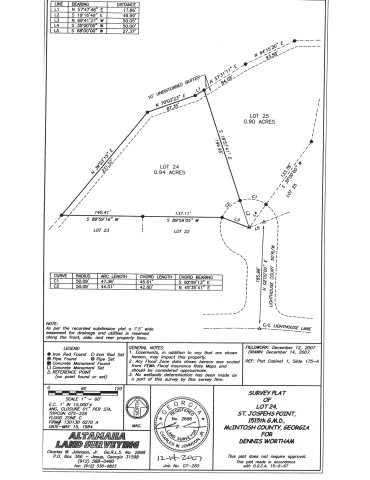 Lot 24 Lighthouse Court, Darien, GA 31305