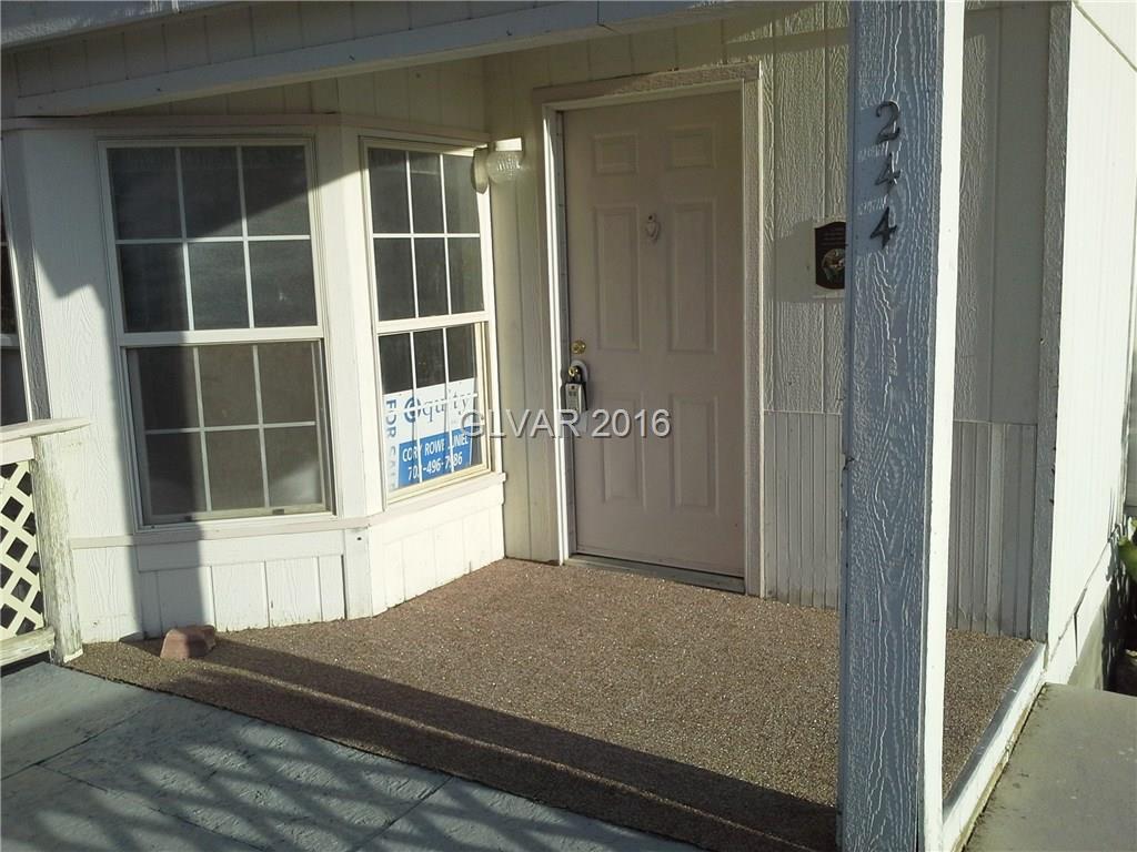 244 W GRETTA Lane, Indian Springs, NV 89018