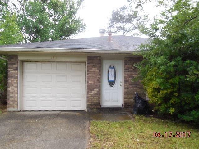 Great starter home at an unbelievable price. Big master bedroom, laminate flooring in bedrooms and den, ceramic tile in kitchen. Large rear yard.
