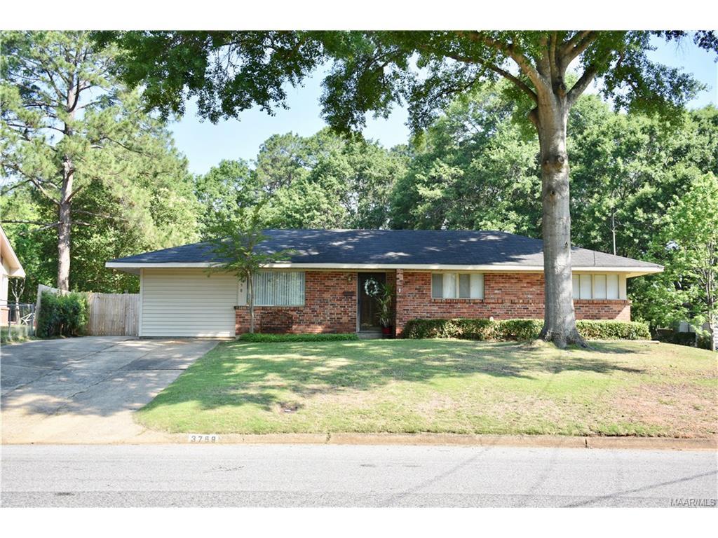 3758 Willow Lane Drive, Montgomery, AL 36109