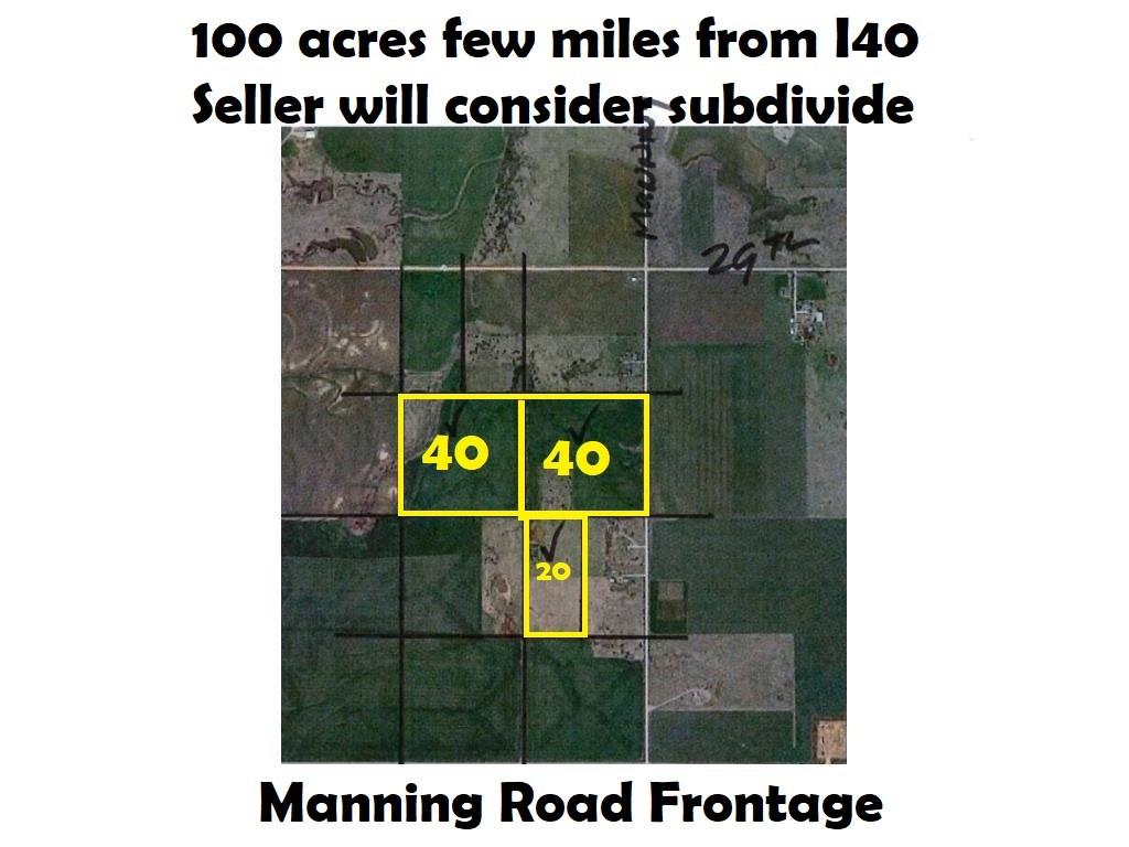 100 Acres Vacant Land, El Reno, OK 73036