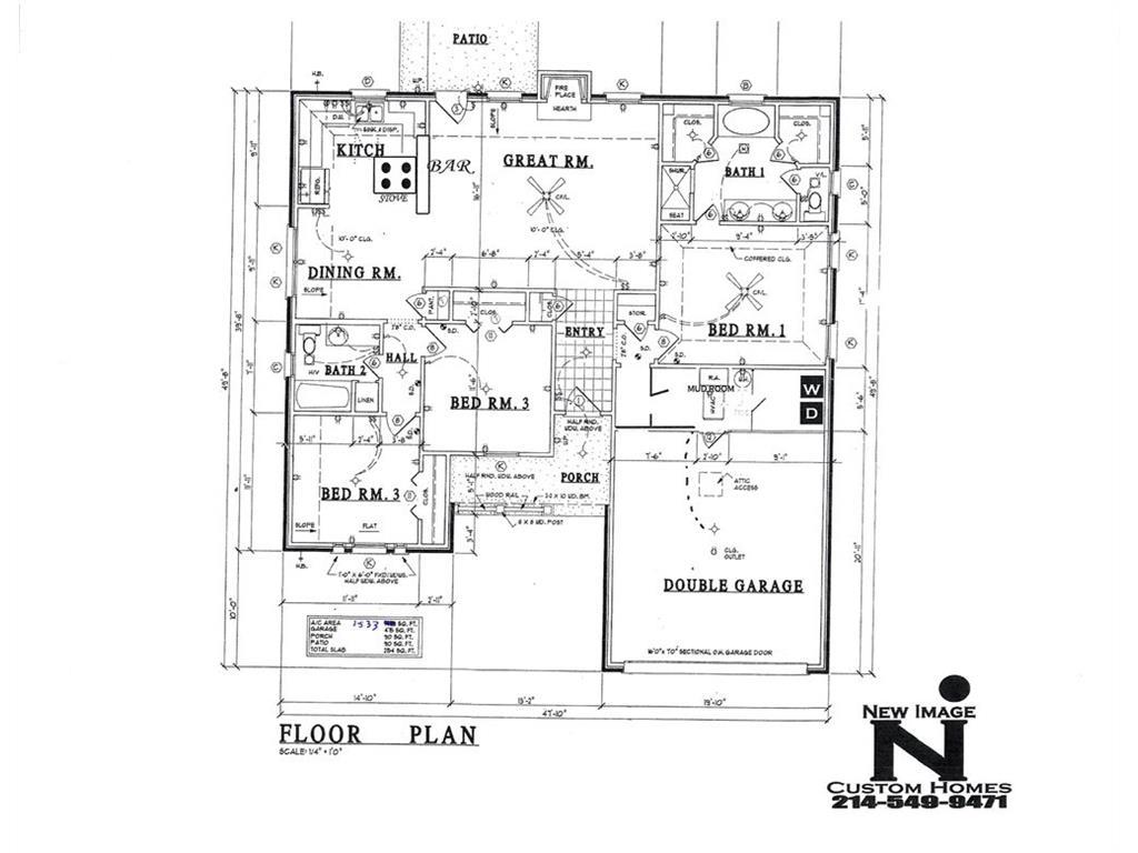 599 E Eubank Street, Mabank, TX 75147
