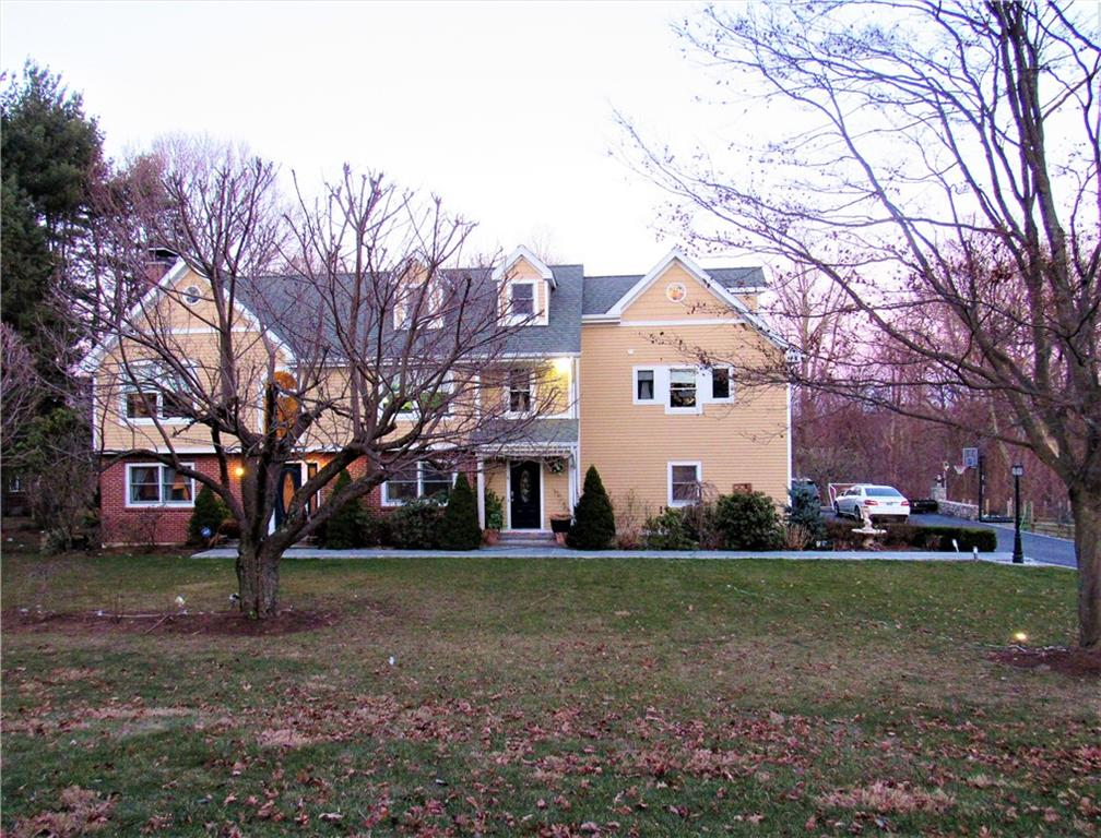 Location location location! What a great opportunity!  This idyllic colonial home set on 1.03 acres, surrounded by lovely landscapes, and tranquility.    Offers a large kitchen, stainless steel appliances, and tons of customs cabinetry.  So much more character than a typical new construction with artisan details and craftsmanship.  Featuring 5 sunny, bright and large bedrooms, and 5 en-suite bathrooms. Three car attached garage.  Full basement with a generous rec room for entertainment. Mudroom, and a large completely finished attic.  Outdoor decks that overlook the serenity of the large back yard. Great opportunity to own on one of the best neighborhoods in Norwalk.