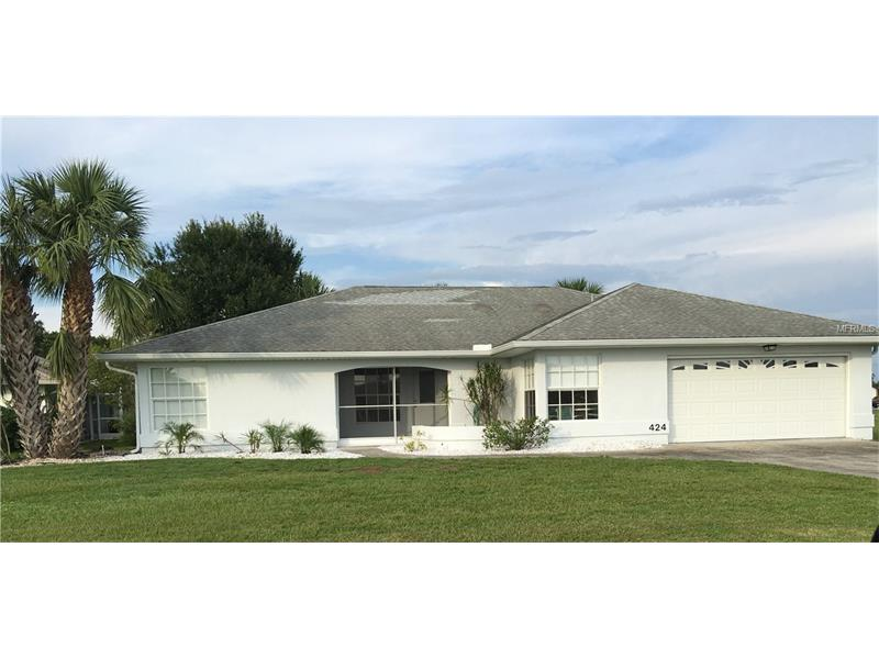 424 SANTIGUAY STREET, PORT CHARLOTTE, FL 33983