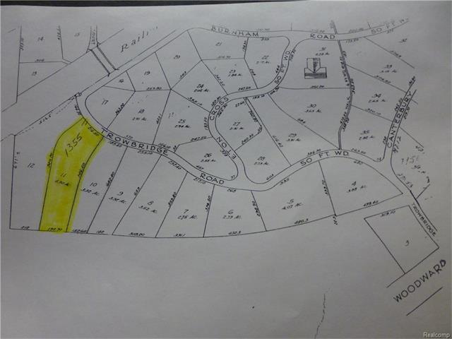 1355 TROWBRIDGE Road, Bloomfield Hills, MI 48304