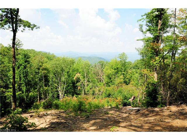 Beautiful Mountain Views of the sunset and Pisgah Forest, the search is over! Road way cut into lot and trees have been selectively cut for the home site! Private location for your dream home. THREE BEDROOM SEPTIC EXPIRED IN 2012 ON FILE.