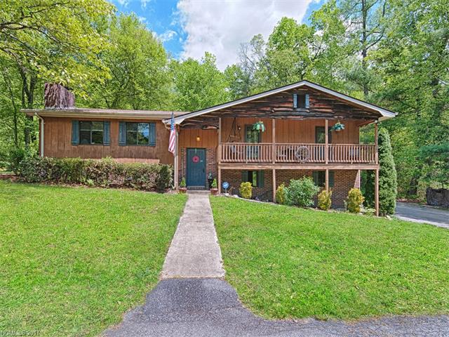 Private 8.45 acre property with creek and private pond located close to Dupont and Holmes State Forests. 3 bedrooms, 2.5 baths, living room with vaulted ceiling. Two wood burning fireplaces. Large front and back decks. Winter views.