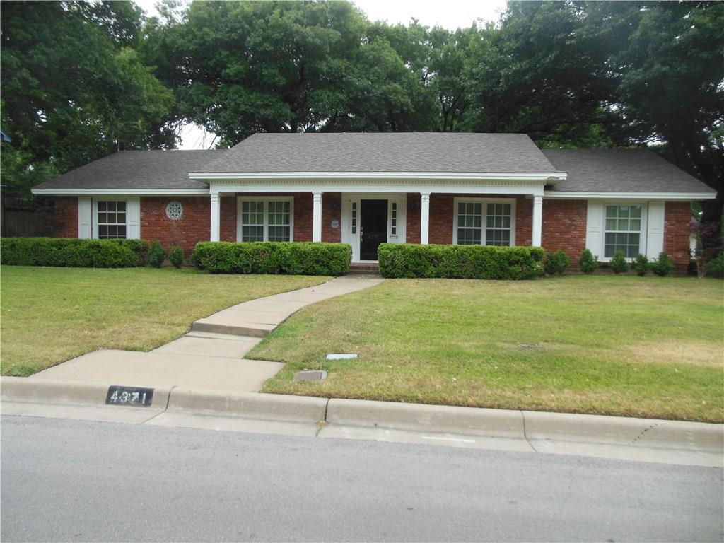 4371 Westdale Drive, Fort Worth, TX 76109