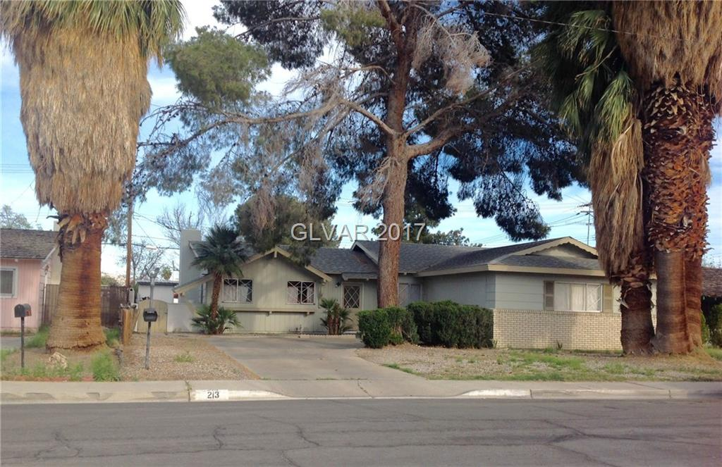 213 WOODLEY Street, Las Vegas, NV 89106
