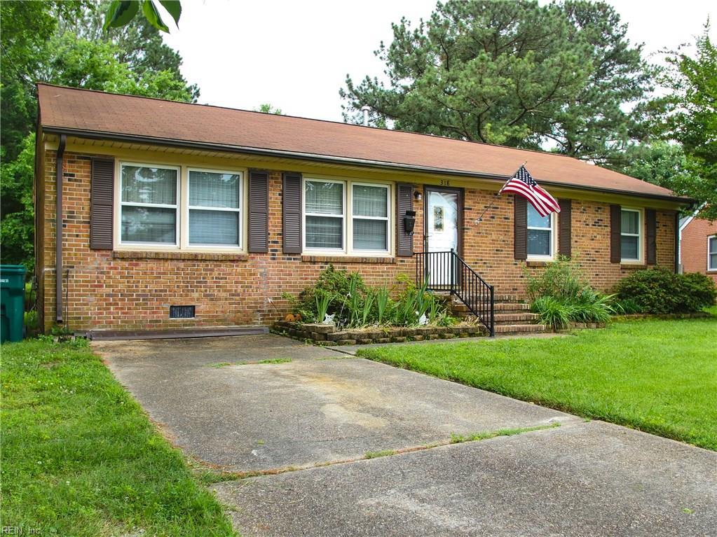 318 BELRAY DR, Newport News, VA 23601