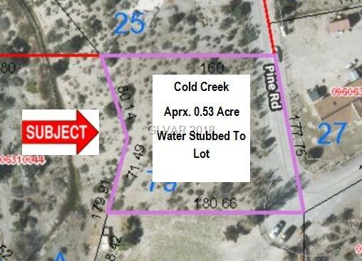 79 Pine Road, Cold Creek, NV 89124