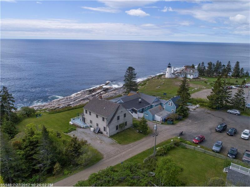 Talk about LOCATION!!  Enjoy breathtaking views of the Atlantic Ocean.  Home is located in a quaint neighborhood next to the iconic Pemaquid Lighthouse and Sea Gull Shop & Restaurant.