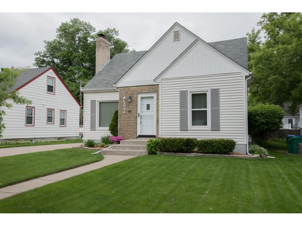 Charming home in a quiet neighborhood & on a closed-end street! Coved ceilings, arches, crown molding & hrdwd flrs. Updates - paint, lighting, window coverings, water heater! Kitchen w/subway tile backsplash, Cambria countertops, new SS appls & breakfast bar. Dining w/patio access! Living rm w/fplc. 2 main lvl BRs w/hrdwd flrs + updated full BA. UL loft w/storage + Master BR w/walk-in closet. LL family rm! Fenced backyard w/gardens & shed. 1-car garage. Close to lakes, parks, shopping & more!