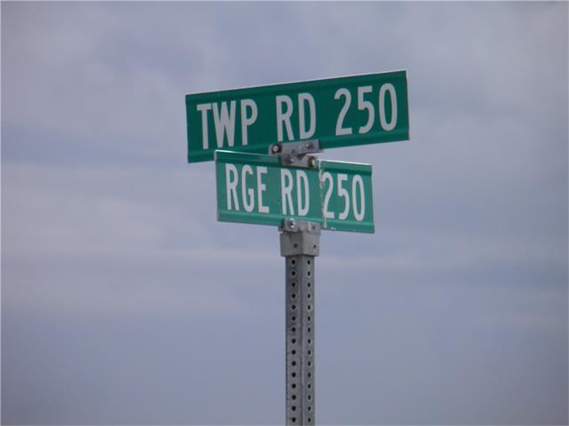W4-24-25-6NW RR 250 and TWP 250, Rural Wheatland County, AB T1P 1K5