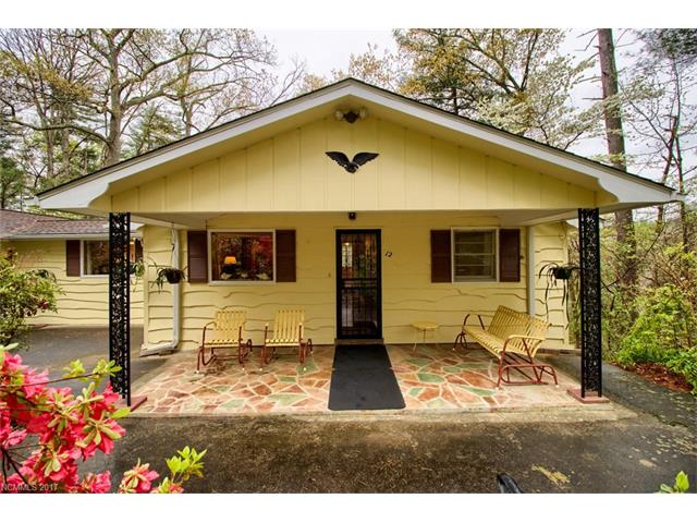 Single level Cottage Bungalow with 3/2 split bedroom plan. Kitchen updated in 2015 with granite countertops, sink, new exhaust fan and refrigerator. Large living room with wood burning fireplace and bay window. Great outdoor entertainment space with covered porch and patio area. House has a secluded feel surrounded by woods but convenient in-town location close to shopping and restaurants.