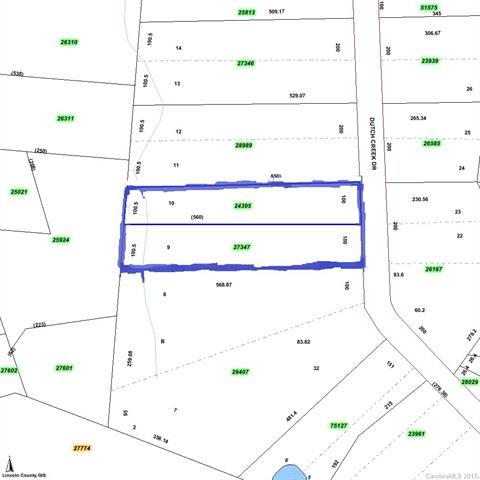 Lots 9B and 10B Dutch Creek Drive 9B, 10B, Iron Station, NC 28080
