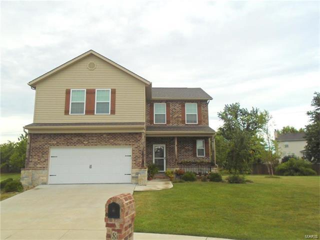 805 BLUFF RIDGE Lane, Shiloh, IL 62221