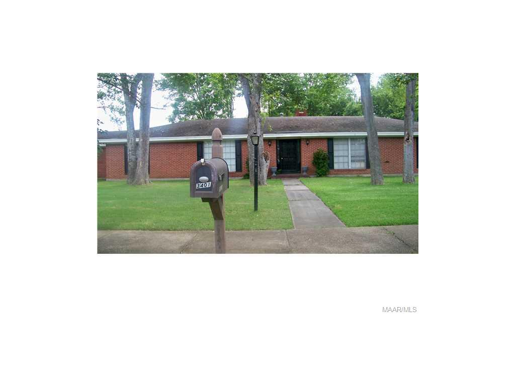 3401 SOMMERVILLE Drive, Montgomery, AL 36111