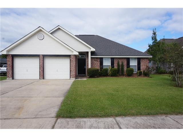 Lovely 3 bedroom, 2 bath home with large den and fireplace, huge rear yard with access for boat or RV storage. Master bath has garden tub and nice vanity, Washer, dryer, & refrigerator included. finished 2 car garage for additional storage.   NO PETS