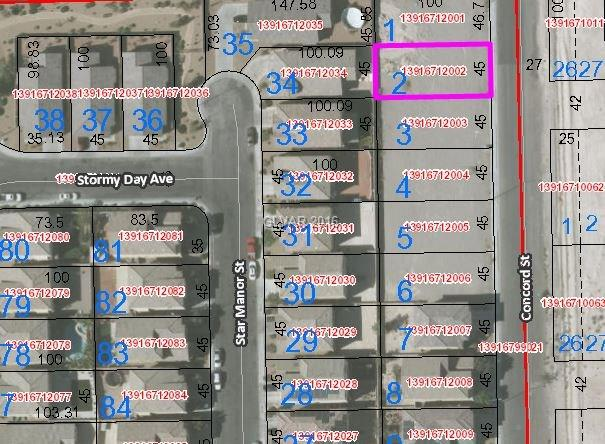 2713 CONCORD Street, North Las Vegas, NV 89030