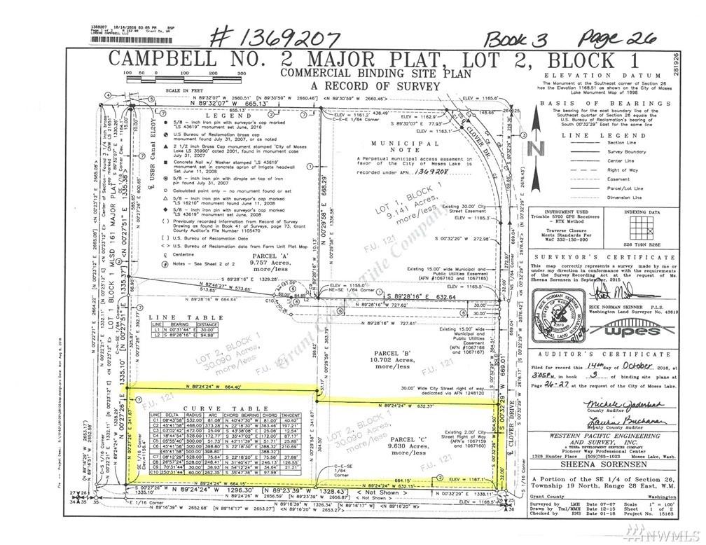 Clover Dr, Moses Lake, WA 98837