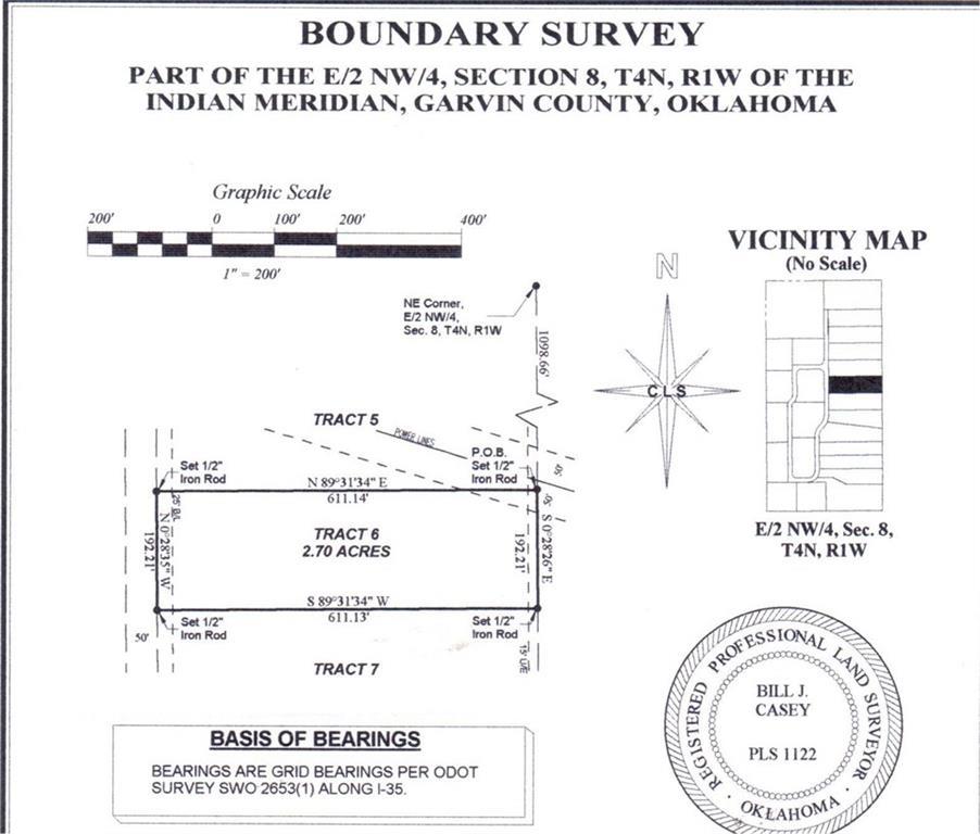 N County Road 3183 (Tract 6), Paoli, OK 73074