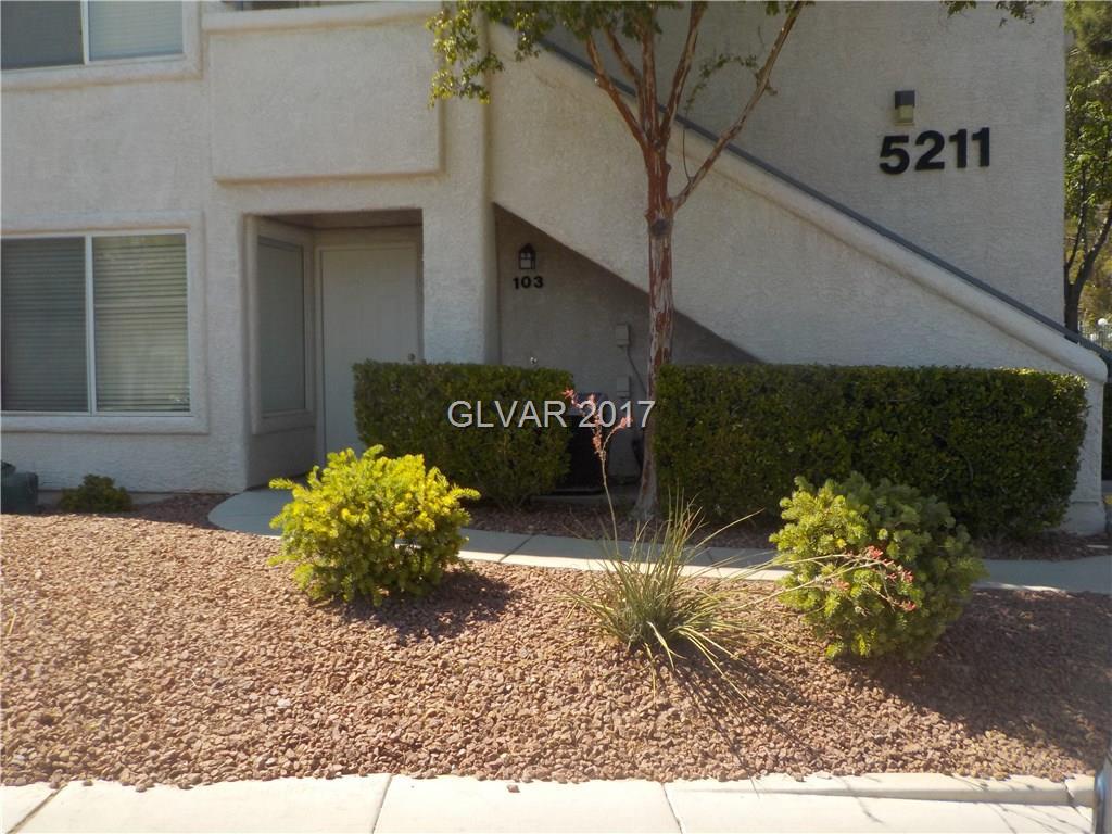5211 CASPIAN SPRINGS Drive 103, Las Vegas, NV 89120