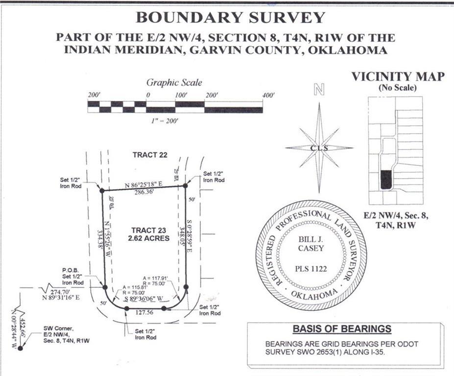 N County Road 3183 (Tract 23), Paoli, OK 73074