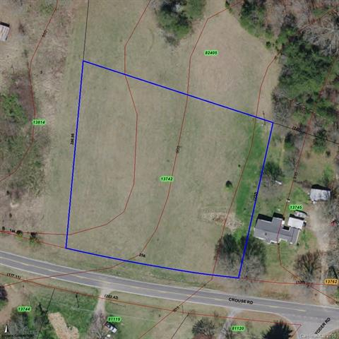 1.58 Acres on Crouse Road, Crouse, NC 28033