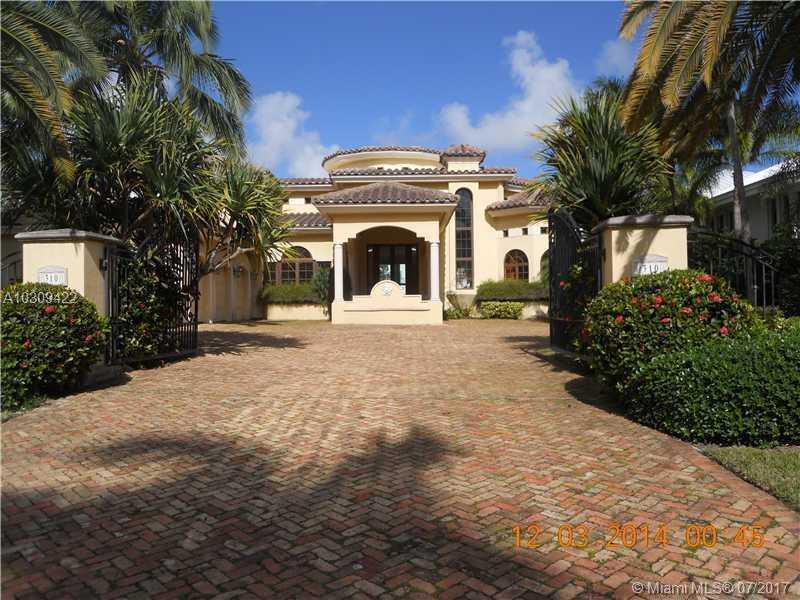310 S Parkway, Golden Beach, FL 33160