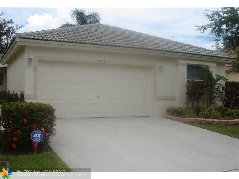 5415 NW 50th Ct, Coconut Creek, FL 33073