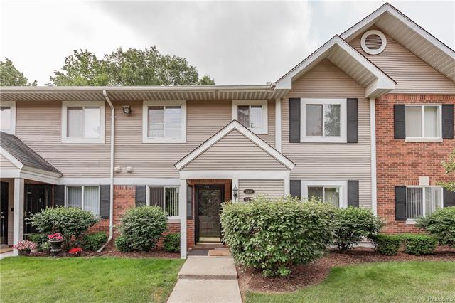 MULTIPLE OFFERS - HIGHEST & BEST DUE BY NOON, 06/23/17  This is it! Fantastic upstairs unit with private main floor entry in the heart of highly sought-after Orchard Creek Village, far from the busy road! This gem is ready for new owner: the entire interior has just been professionally painted & all brand new carpeting installed T/O! Family room with natural fireplace, elevated cathedral ceiling & sliding door to your own spacious balcony overlooking backyard of the complex beautifully lined by mature trees. 2 large bedrooms & 2 full bathrooms! Newer (2012) kitchen with lots of ceramic countertop space, full-height backsplashes & room for small breakfast table. Newer bathrooms. All appliances included. Main floor entry foyer/Mud room with ceramic tile flooring. 1 assigned parking in covered carport right in front your entry door & lots of unassigned parking for your guests. Close proximity to great shopping & dining areas of the Orchard Lake Road corridor. Taxes are non-homestead.