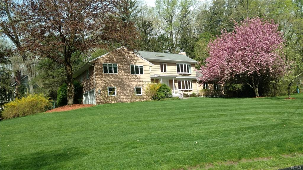 """Renovated kitchen. Chic! Physically lives like a 5 bedroom. Welcome to 1 Windmill Ct., Windmill Farm, in Armonk with Byram Hills SD. A gem in a sought after & beautifully desirable neighborhood. Surrounded by trees & privacy. Located in a quiet area in a cul-de-sac. Open flow & abundant natural light with plenty of room to spread out & live, play, work, & entertain. Home has 4,383sf, garage is 472sf, air-conditioned is 3,911sf. Sq. ft. differ from town records. Incredible home theater with 150"""" cinema HD screenwall projector. See attached Home Feature Sheet for all the details. Windmill Farm is a special neighborhood that offers a lake with a beach, tennis courts, basketball court, softball, & dining area & bar-great for parties or enjoying the summer. MEC Certificate included (value of $40K). STAR deduction is $1,232."""